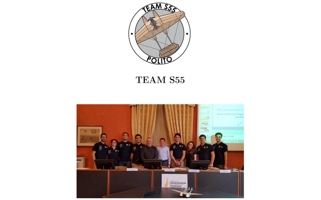 Aprile 2019 – TEAM S55 presso Ordine Ingegneri provincia di Torino